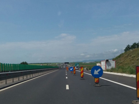 Atenție șoferi! Trafic rutier restricționat pe autostrada A1 Sibiu-Deva