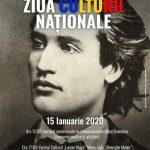 15 IANUARIE 2020, ZIUA CULTURII NAȚIONALE, LA SEBEȘ