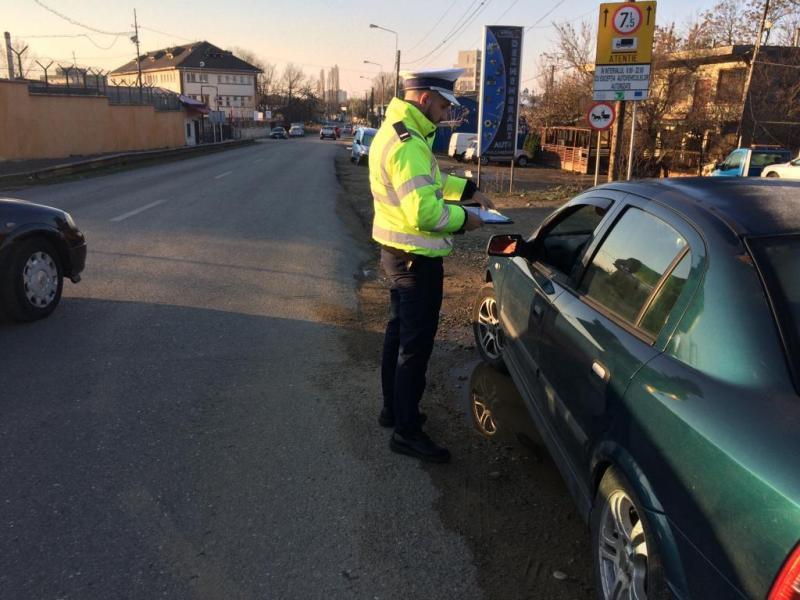 71 de șoferi sancționați în urma unei acțiuni a polițiștilor rutieri din Câmpeni