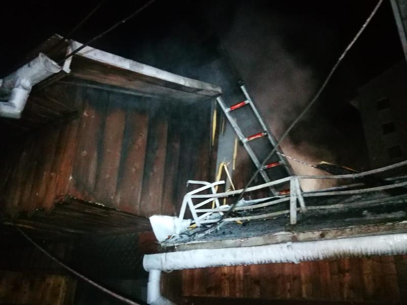 Scărișoara – Intervenție a pompierilor pentru stingerea unui incendiu