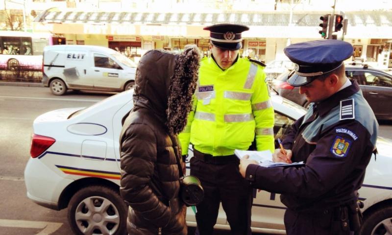 Acţiune cu efective suplimentare a poliției, la Baia de Arieş