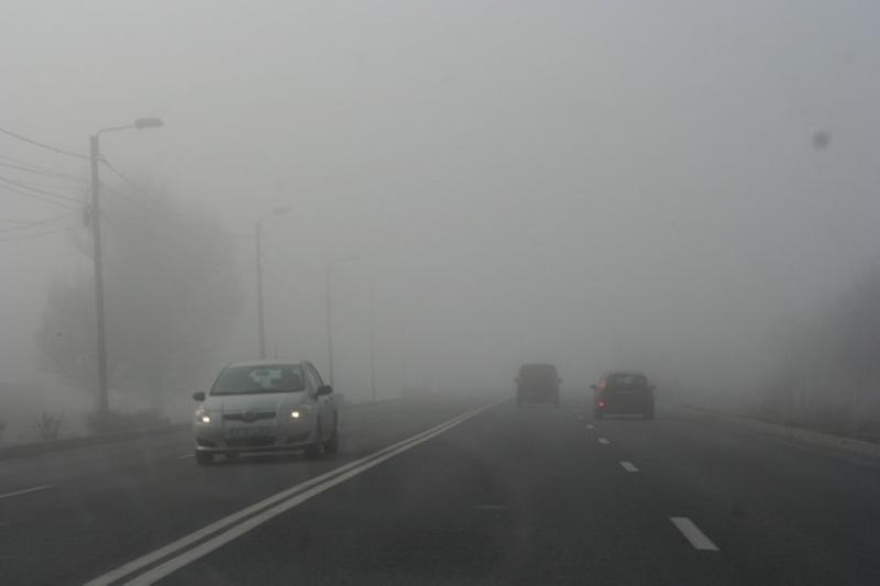 ANM – Avertizare Cod Galben de ceață pentru mai multe localități din județul Alba