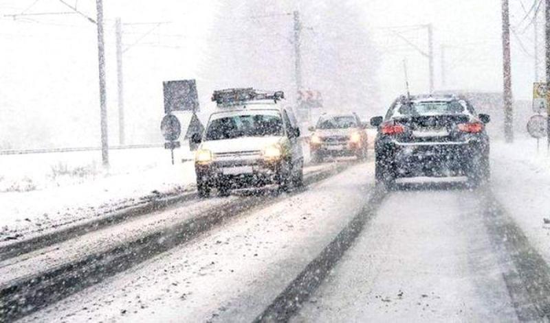 Recomandările Poliției Române pentru circulația în siguranță, pe timp de iarnă