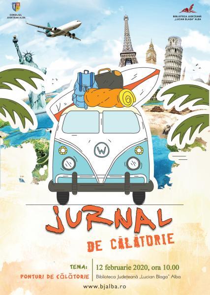 """""""Ponturi de călătorie"""" este tema propusă de Biblioteca Județeană """"Lucian Blaga"""" Alba pentru proiectul """"Jurnal de călătorie"""" din luna februarie"""