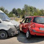 Accident rutier - Coliziune între două autovehicule pe strada Al.I. Cuza din Alba Iulia
