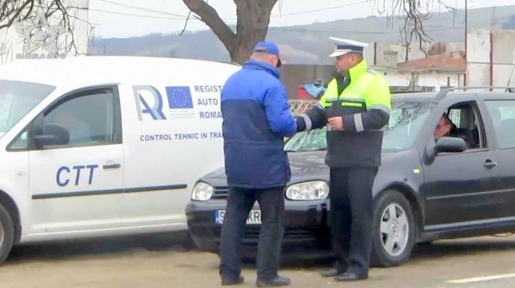 Acţiune cu efective suplimentare a polițiștilor din Aiud, în colaborare cu RAR Alba