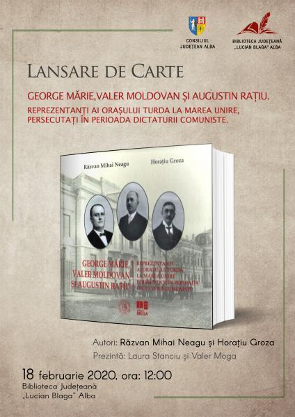 """Marea Unire – tema cărții  de cercetare istorică ce se va lansa la Biblioteca Județeană """"Lucian Blaga"""" Alba"""