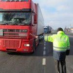 Polițiștii rutieri din Alba au dat amenzi și au reținut permise de conducere cu ocazia unui nou episod al operațiunii ''Truck&Bus''