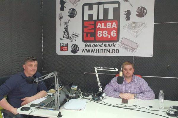"""Vicepreședintele PSD Alba, Daniel Zdrânc, invitatul emisiunii """"La ordinea zilei"""" de la radio HIT FM Alba, 88,6 FM"""