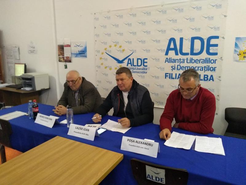 ALDE Alba și-a prezentat candidații pentru primăria orașului Abrud și primăria comunei Sâncel