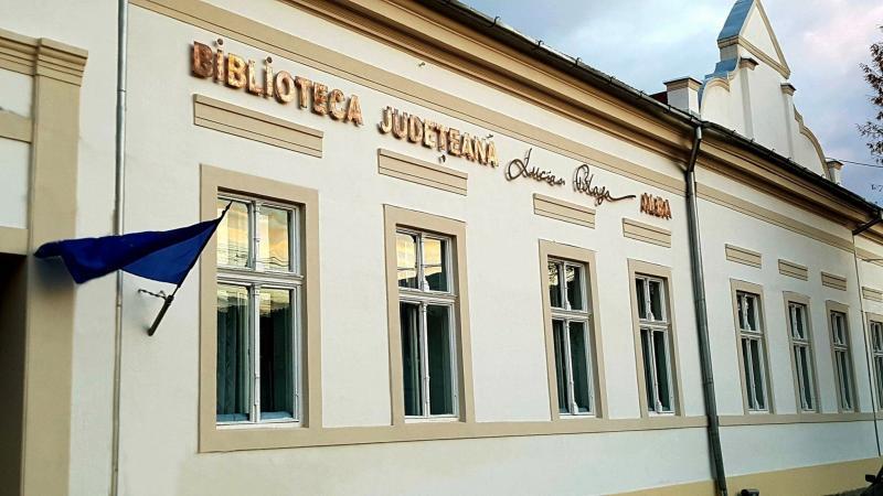 """Biblioteca Judeţeană """"Lucian Blaga"""" Alba a sistat activitatea cu publicul"""