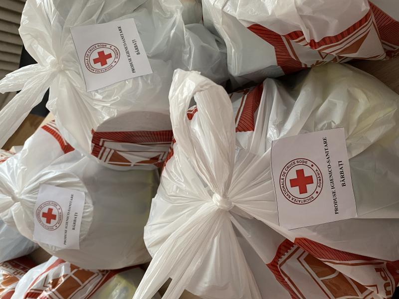 Intervenția Crucii Roșii Române în pandemia COVID-19