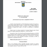 Textul Ordonanței militare numărul 5!