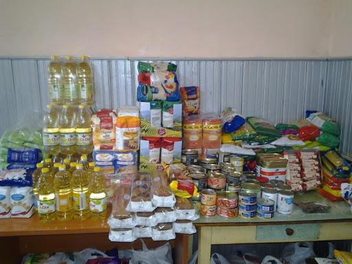 Centrele DGASPC Alba au primit donații de produse alimentare