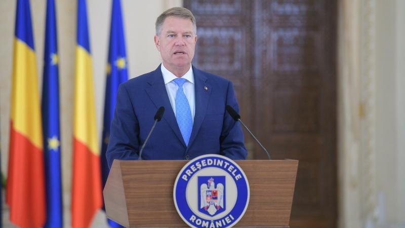 """Klaus Iohannis:""""Țara noastră se confruntă cu o situație tragică!"""""""