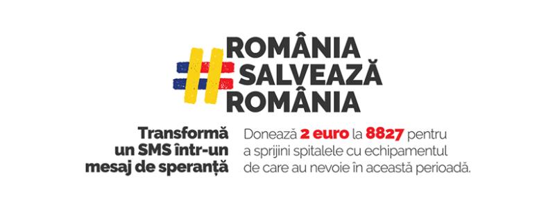 """Crucea Roșie Română lansează campania națională de strângere de fonduri """"România salveaza România"""""""