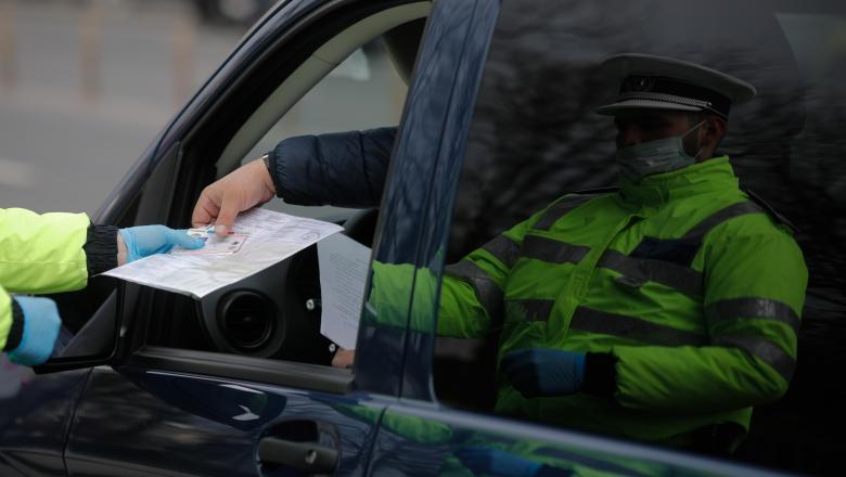 Infracțiuni rutiere depistate și sancționate în weekedul trecut de polițiștii rutieri din județul Alba