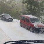 Imagini incredibile din comuna Livezile de marți, 26 mai!!!