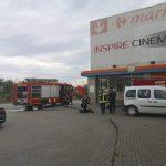 Intervenție a pompierilor la o degajare de fum produsă la Alba Mall!