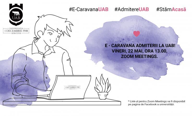 """Universitatea """"1 Decembrie 1918"""" din Alba Iulia organizează E-CARAVANA ADMITERII 2020"""