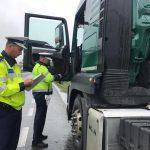 Acțiune județeană de verificare a transportatorilor de marfă și persoane