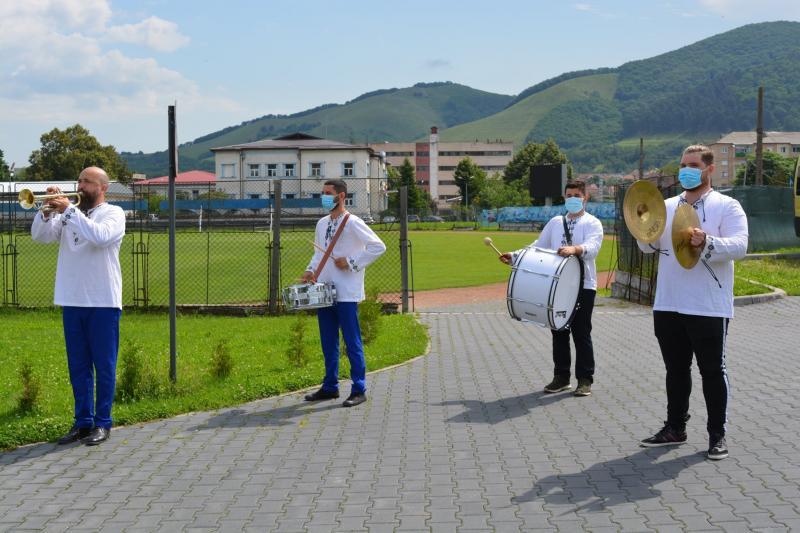4-6 Ziua Drapelului Național sărbătorită și la Cugir