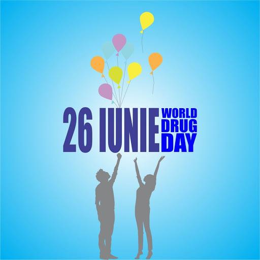 26 IUNIE – ZIUA INTERNAȚIONALĂ ÎMPOTRIVA CONSUMULUI ȘI TRAFICULUI ILICIT DE DROGURI