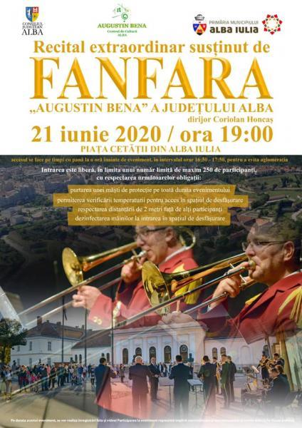 Recitaluri de excepție în Piața Cetății din Alba Iulia