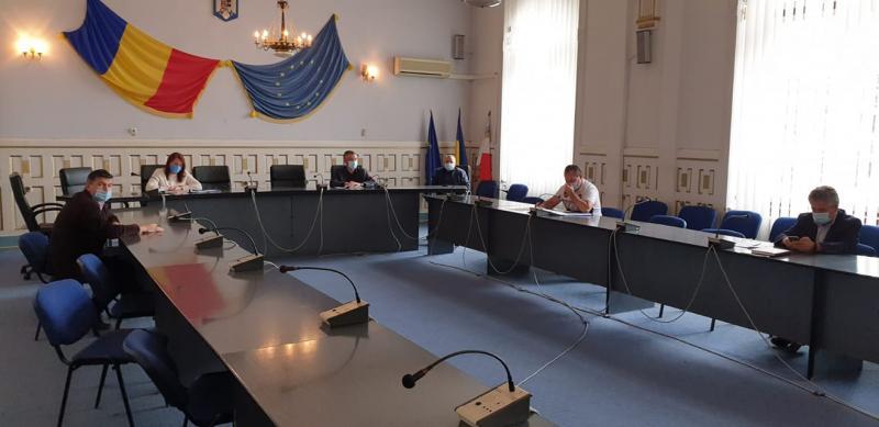 Şedinţă extraordinară a Comitetului Judeţean pentru Situaţii de Urgenţă Alba