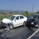 Accident rutier - Coliziune între două autovehicule pe strada Biruinței din Oarda