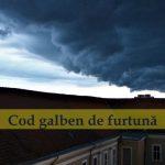 ANM -  Cod Galben de ploi, grindină și intensificări ale vântului pentru mai multe localități din județul Alba