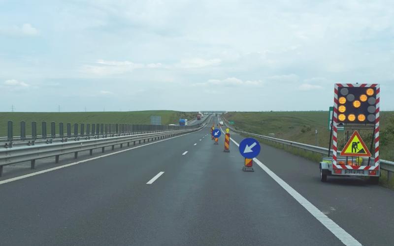 Atenție șoferi! Circulație restricționată pe Autostrada A1 Sibiu-Deva!!!