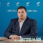 """Invitatul emisiunii """"La ordinea zilei"""" de marți, 30 iunie de la radio HIT FM Alba, 88,6 FM, președintele USR Alba, Beniamin Todosiu"""