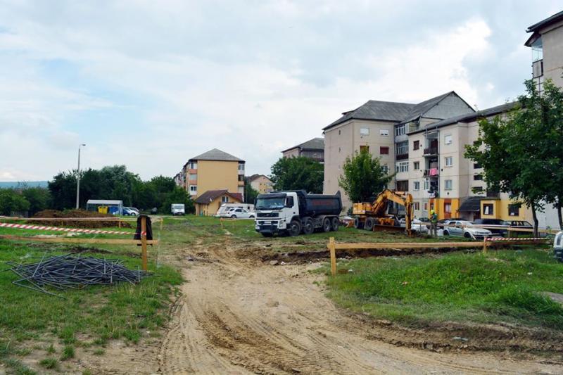 A început construcția unui nou bloc ANL la Cugir