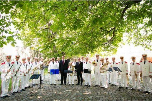 Ziua Imnului Național, marcată la Sebeș printr-un concert susținut de Fanfara din Petrești