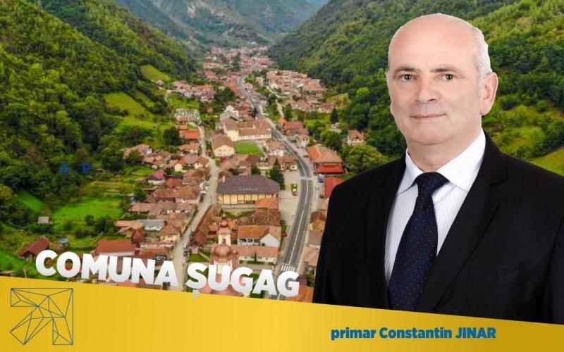 """Constantin Jinar, primarul comunei Șugag: """"Vreau să dezvoltăm comuna pe toate planurile şi să avem aceleaşi condiţii de trai precum în localităţile urbane."""""""