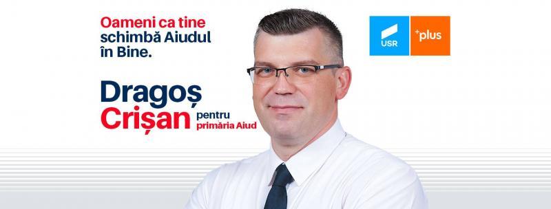 USR Alba propune un antreprenor pentru funcția de primar al Aiudului. Dragoș Crișan are viziune și proiecte serioase pentru dezvoltare economică a municipiului