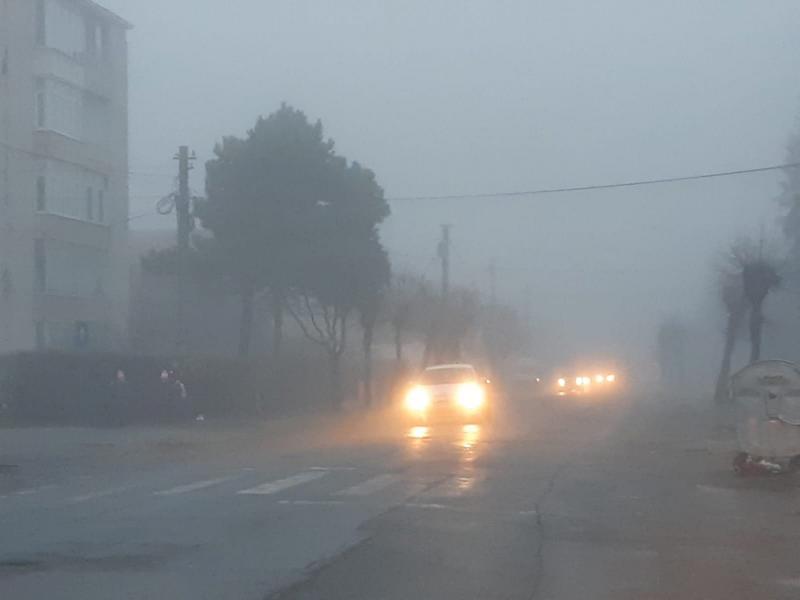 ANM – Avertizare Cod Galben de ceață pentru mai multe localități din județul Alba!