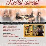 Cvartetul de Coarde al Județului Alba susține, duminică, un recital cameral în Piața Cetății din Alba Iulia