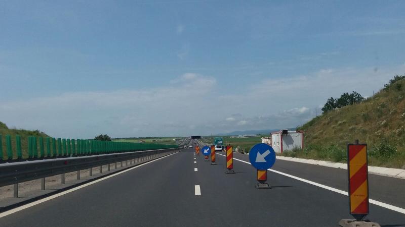 Atenție șoferi! Circulație restricționată pe autostrada A1 Sibiu-Deva!