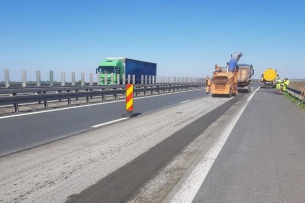 Trafic rutier restricționat pe autostrada A1 Sibiu-Deva
