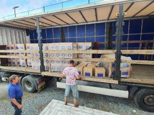 Persoanele aflate în evidența Direcției de Asistență Socială Câmpeni vor primi pachete cu alimente