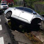 Accident rutier soldat cu o victimă pe strada Dorin Pavel din Sebeș