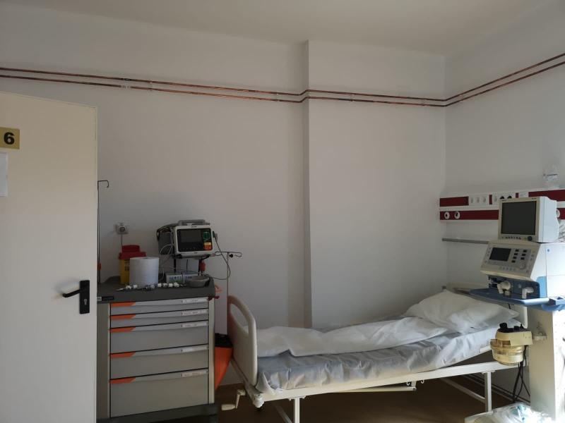spital2_n Investiții importante pentru pacienții cu COVID-19, la secția de Boli Infecțioase a SJU Alba Iulia
