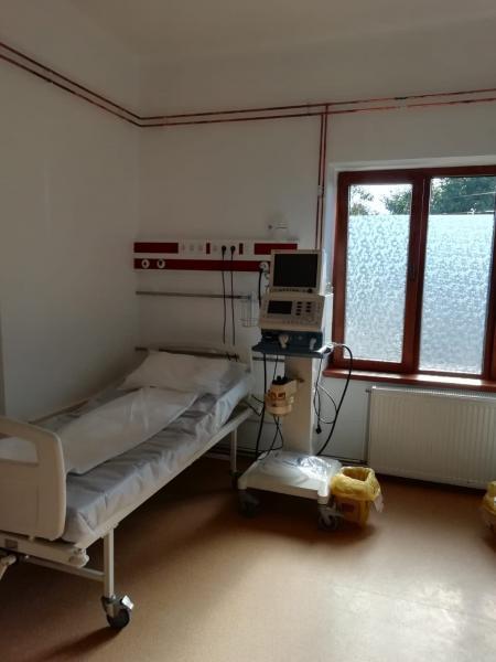 spital8 Investiții importante pentru pacienții cu COVID-19, la secția de Boli Infecțioase a SJU Alba Iulia