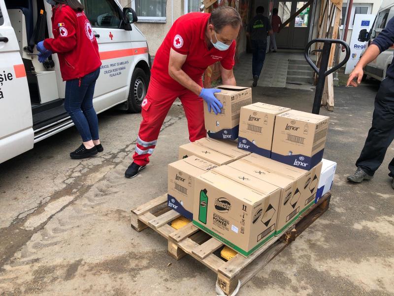 Donaţie de măşti și produse de curățenie pentru Spitalul Judeţean de Urgenţă Alba Iulia