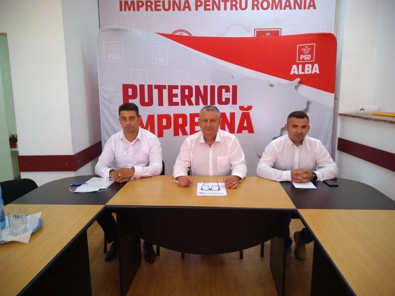 PSD Alba și-a lansat oficial candidații pentru primăriile Ocna Mureș și Zlatna