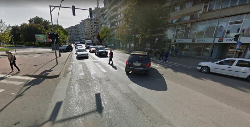 Instalația de dirijare a traficului din zona Hotel Cetate din Alba Iulia va fi reabilitată și înlocuită