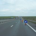 Atenție șoferi! Restricție de circulație pe sensul de mers Sebeș către Sibiu al autostrăzii A1 Sibiu-Deva