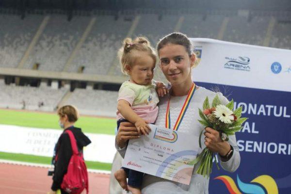 CS Unirea Alba Iulia, medalie de argint la proba aruncarea suliței, la Campionatele Naționale